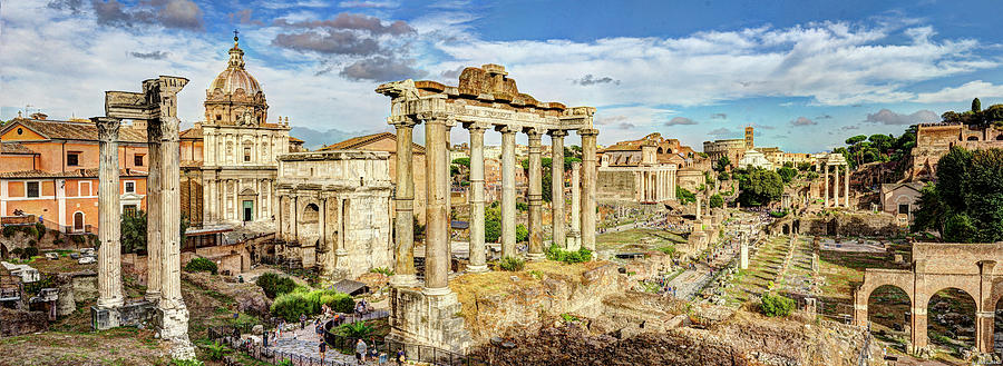 The Roman Forum 2 by Weston Westmoreland