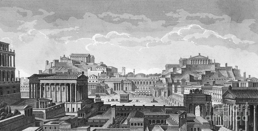 The Roman Forum Photograph by Bettmann