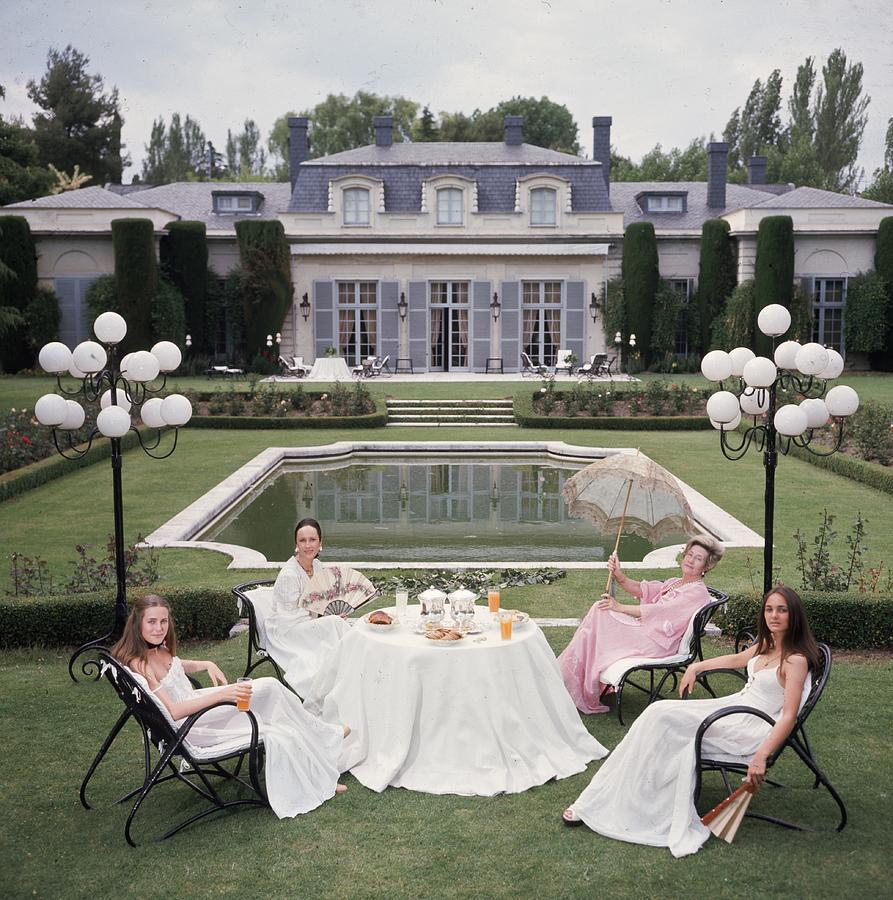 The Romanones Photograph by Slim Aarons
