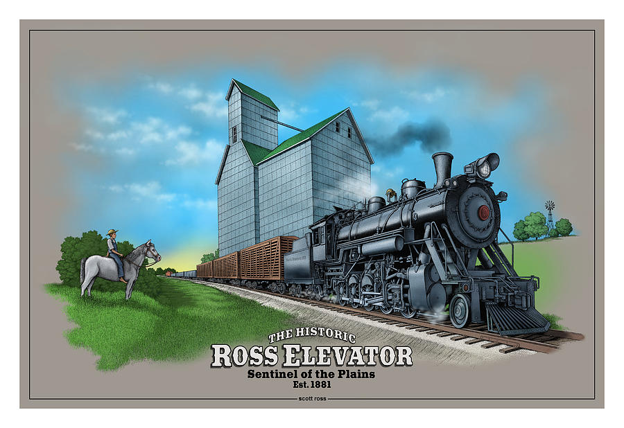 The Ross Elevator Sentinel of the Plains by Scott Ross