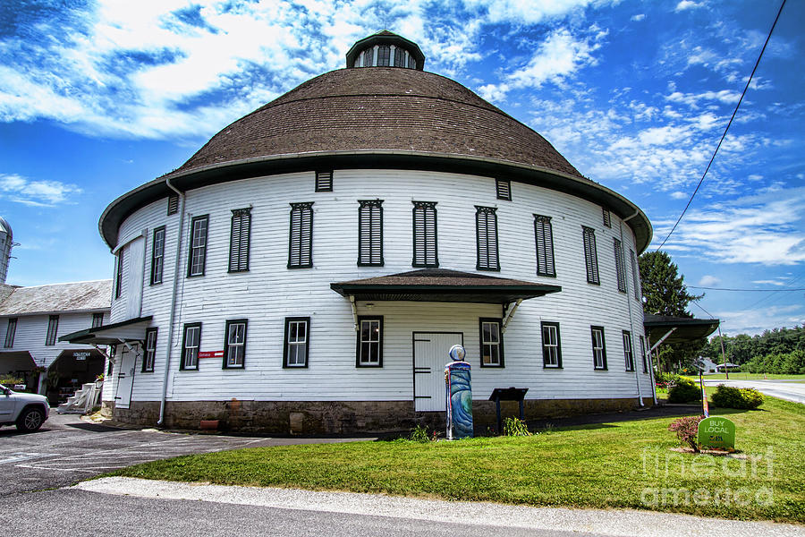 The Round Barn by Photography by Laura Lee