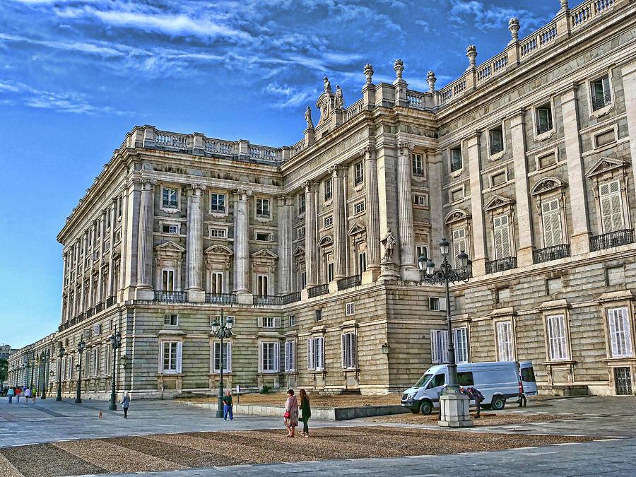The Royal Palace # 2 - Madrid Photograph