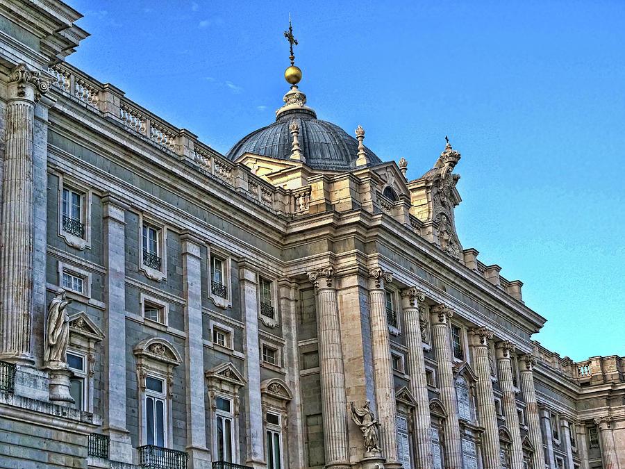 The Royal Palace - Madrid Photograph