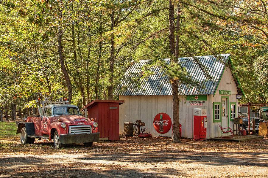 The Rural Texaco Station by Kristia Adams