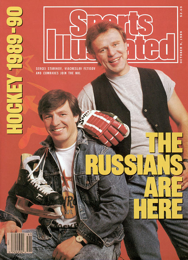 The Russians Are Here Sports Illustrated Cover Photograph by Sports Illustrated