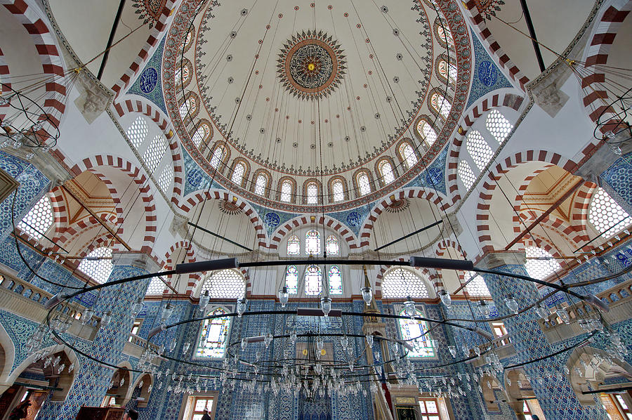 The Rustem Pasha Mosque Photograph by Izzet Keribar