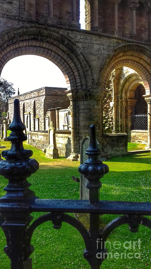 The Sacred Grounds of Kelso Abbey by Joan-Violet Stretch