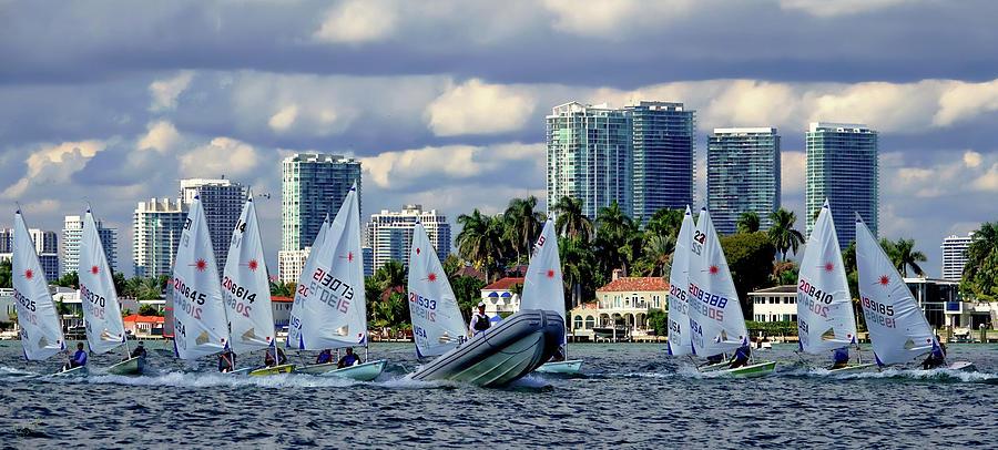 Sailing Photograph - The Sailing Life by Rick Lawler