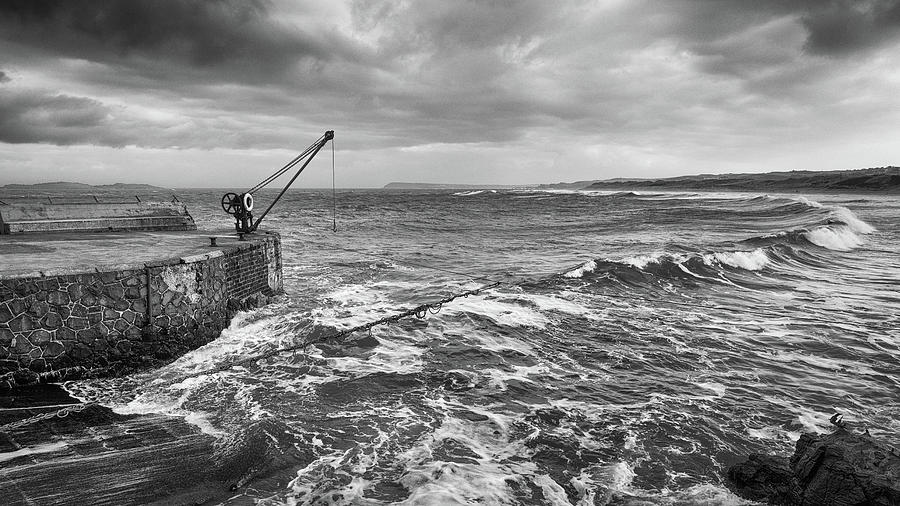 The Salmon Fisheries, Portrush by Nigel R Bell