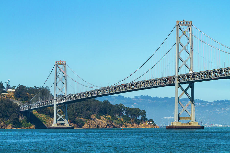 The San Francisco Bay Bridge by Bonnie Follett