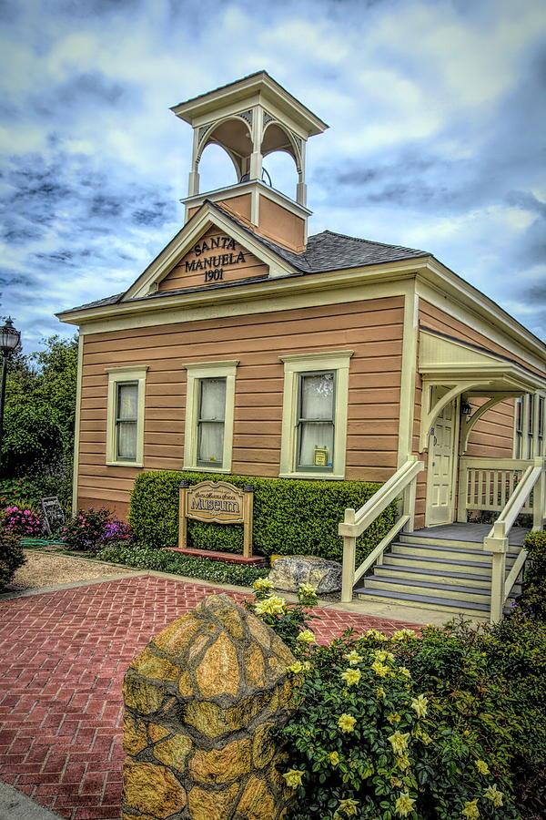 The Santa Manuela Schoolhouse by Floyd Snyder