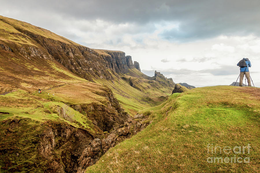The Scale Of The Quiraing Photograph