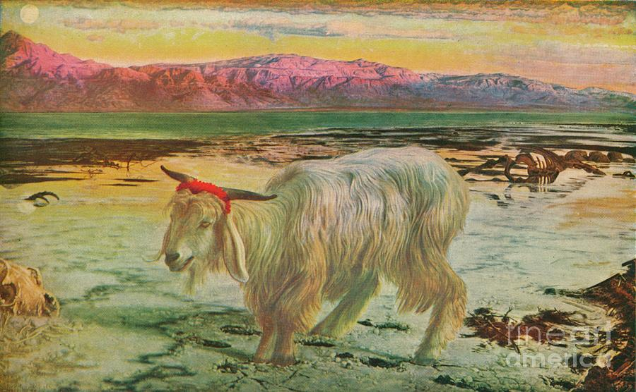 The Scapegoat, 1854-56, 1911 Drawing by Print Collector