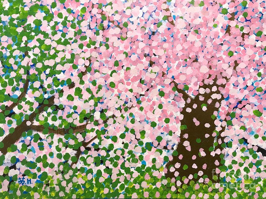 Spring Painting - The Scenery Of Spring by Wonju Hulse
