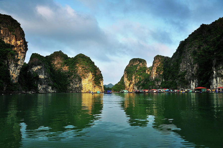 The Scenic Of Halong Bay Photograph by Photo By Sayid Budhi