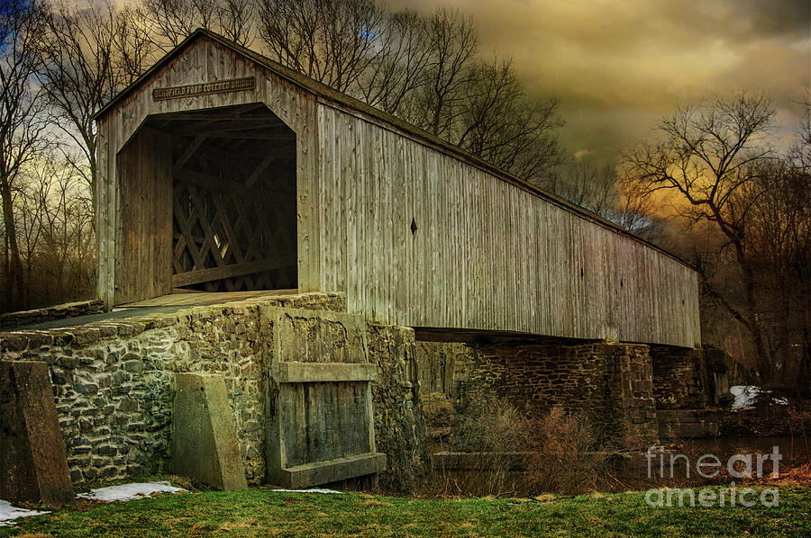 The Schofield Ford Covered Bridge by Debra Fedchin