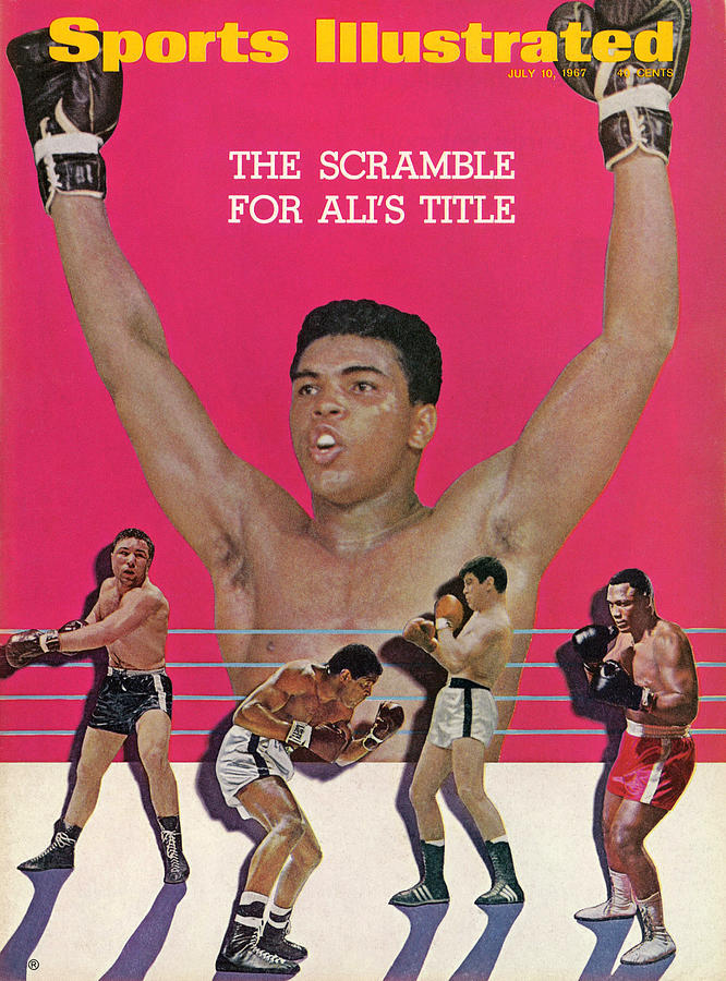 The Scramble For Alis Title... Sports Illustrated Cover Photograph by Sports Illustrated