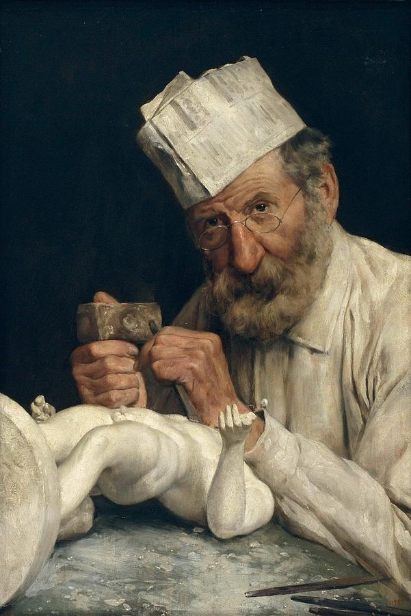 The Sculptor, cca 1911 by Antoni Fabres
