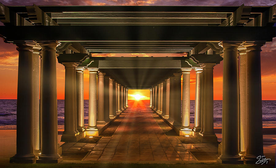 The Sea Colonnade by Endre Balogh