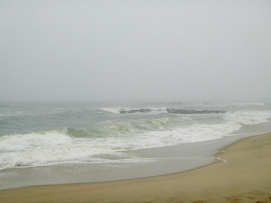 The Sea in Fog by Ellen Paull