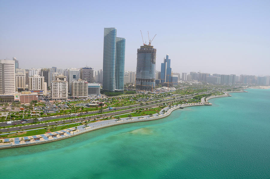 The Seaside City Of Corniche Abu Dhabi Photograph by Deveritt