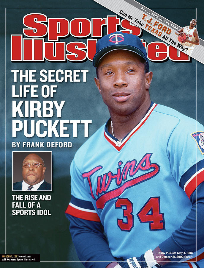 The Secret Life Of Kirby Puckett Sports Illustrated Cover Photograph by Sports Illustrated