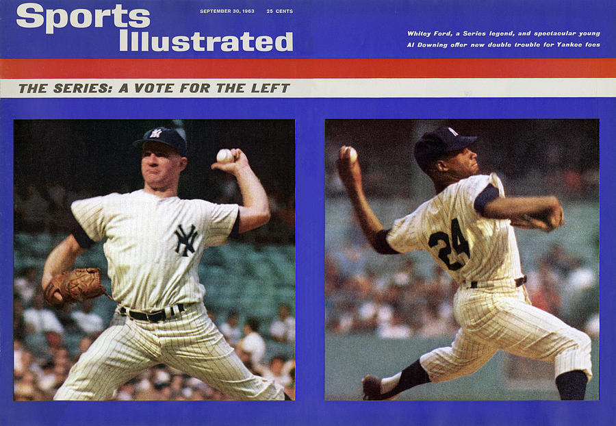 The Series A Vote For The Left Sports Illustrated Cover Photograph by Sports Illustrated