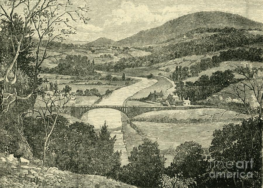 The Severn Drawing by Print Collector