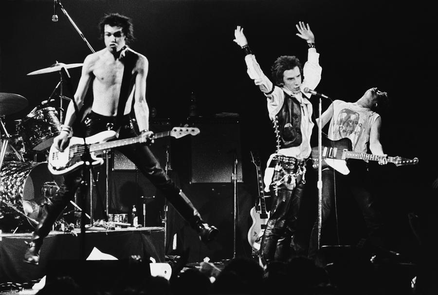 The Sex Pistols In Concert At The Photograph by George Rose