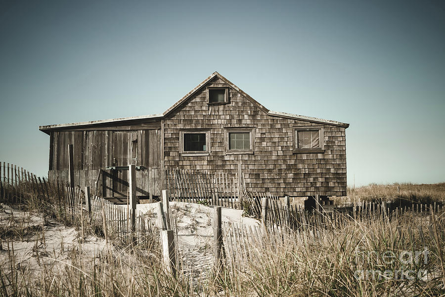 The Shack at Island Beach by Colleen Kammerer