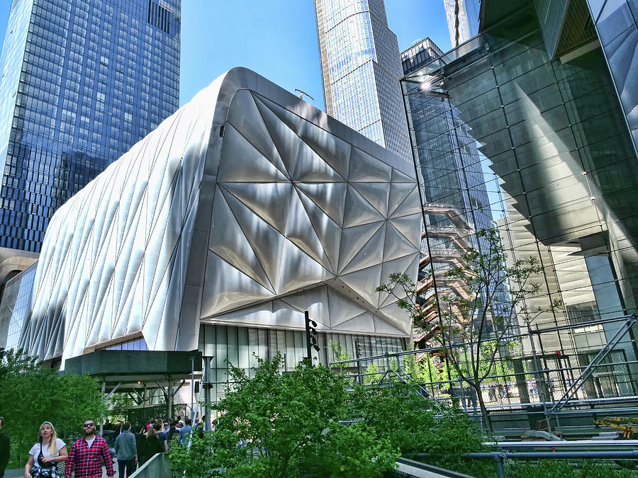 The Shed - Hudson Yards - N Y C by Allen Beatty