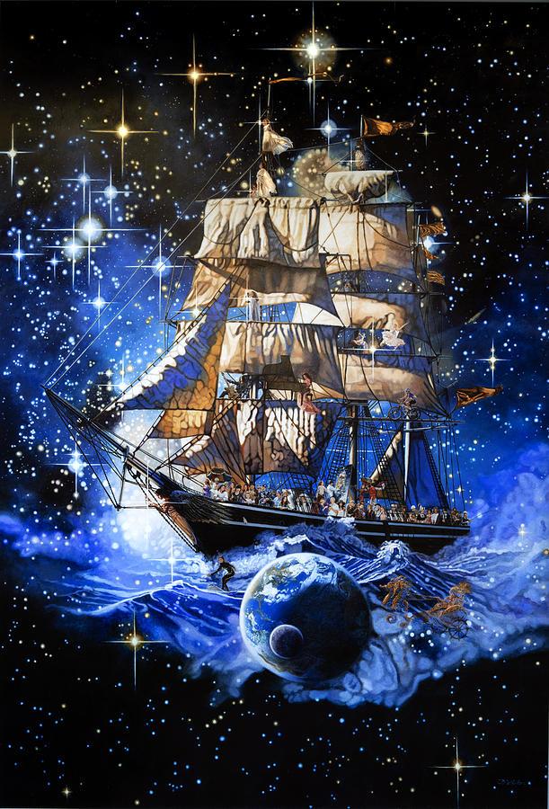 The Ship of Life by Patrick Whelan
