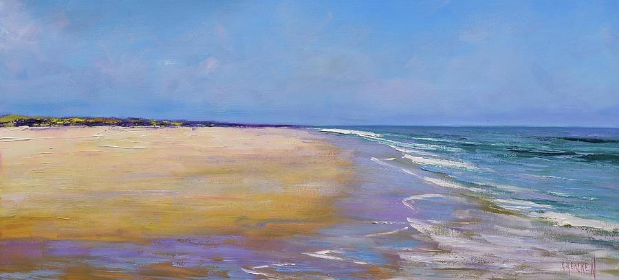 Beach Scenes Painting - The Shoreline by Graham Gercken