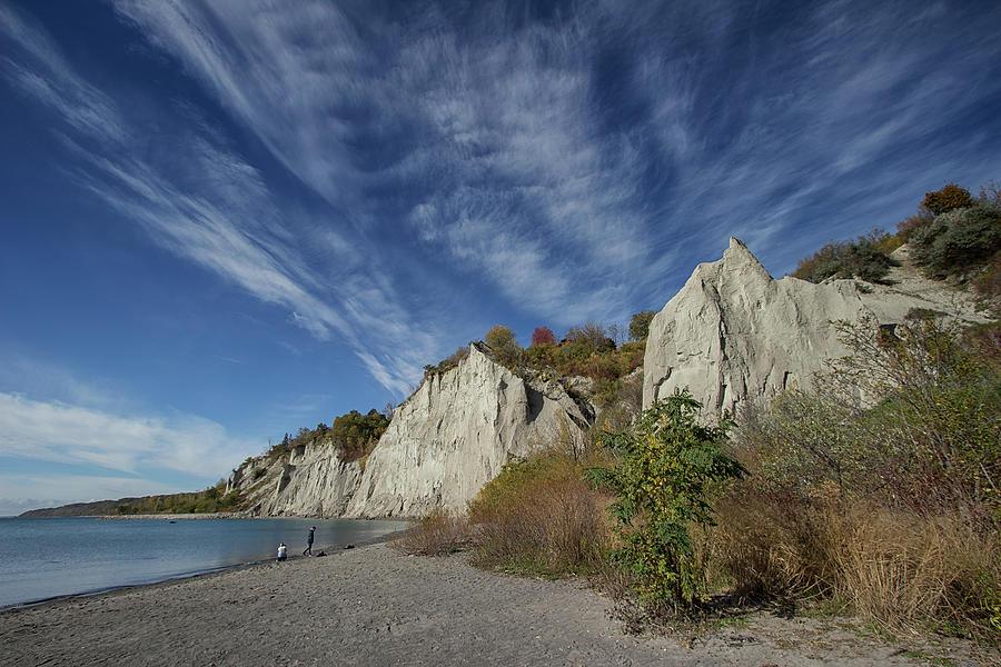 The Shoreline - Scarborough Bluffs - Ontario, Canada by Spencer Bush