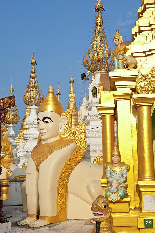 The Shwedagon Pagoda Photograph by Traveler1116