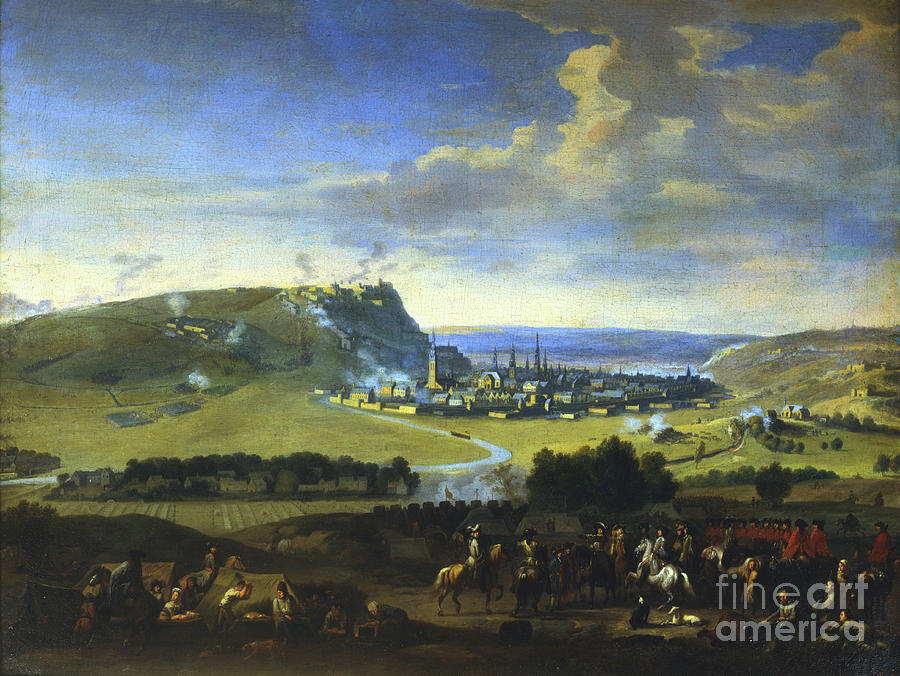 The Siege Of Namur, Scene Drawing by Print Collector