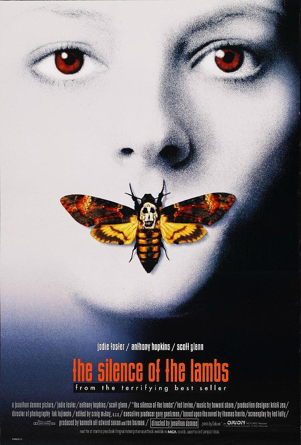 Movie Digital Art - The Silence Of The Lambs  1991 by Geek N Rock