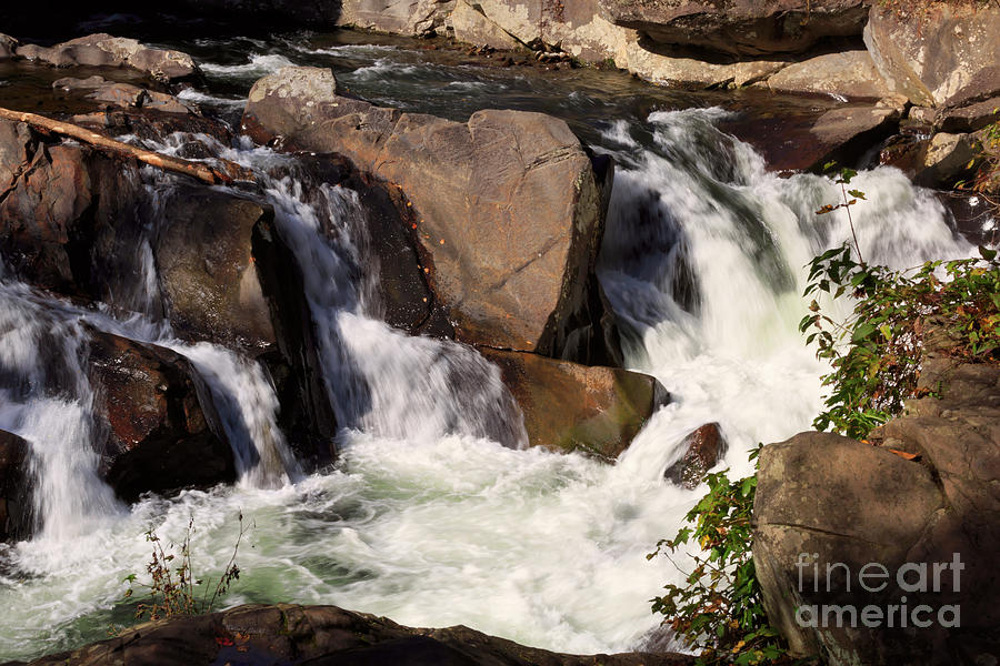 The Sinks Photograph - The Sinks In Smoky Mountain National Park by Louise Heusinkveld