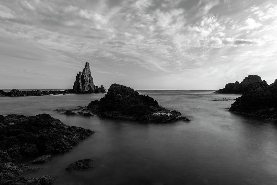 The sirens reef in the natural park of Cabo de Gata, Almeria, Spain by Vicen Photography