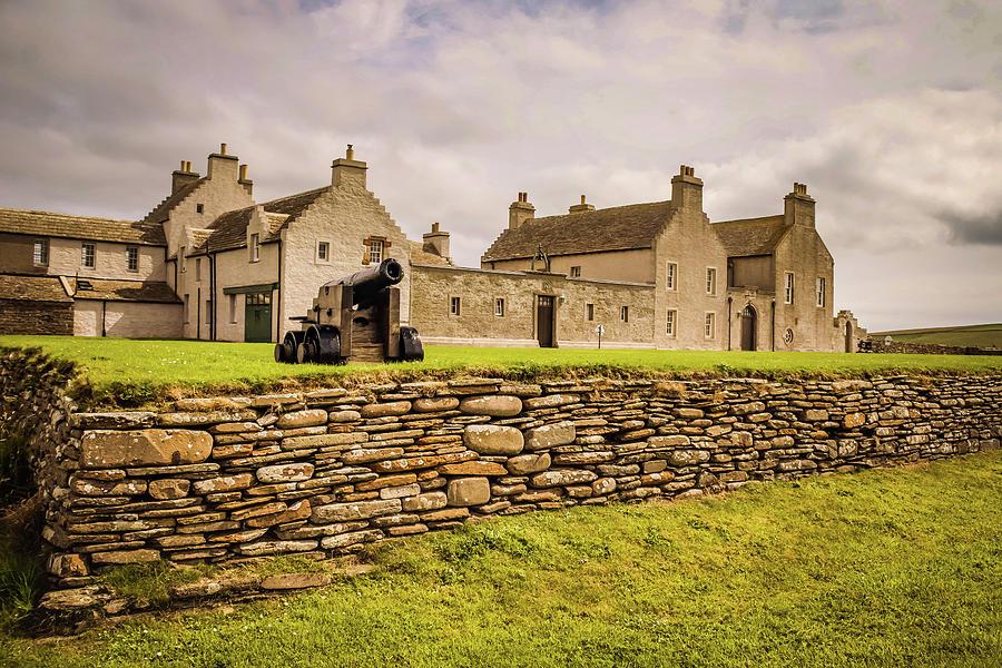 Scotland Photograph - The Skara Brae House by Alister Harper