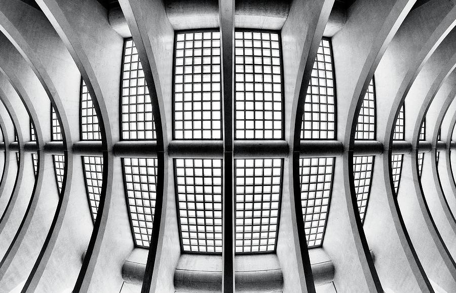 Liege Photograph - The Skeleton by Gerard Jonkman