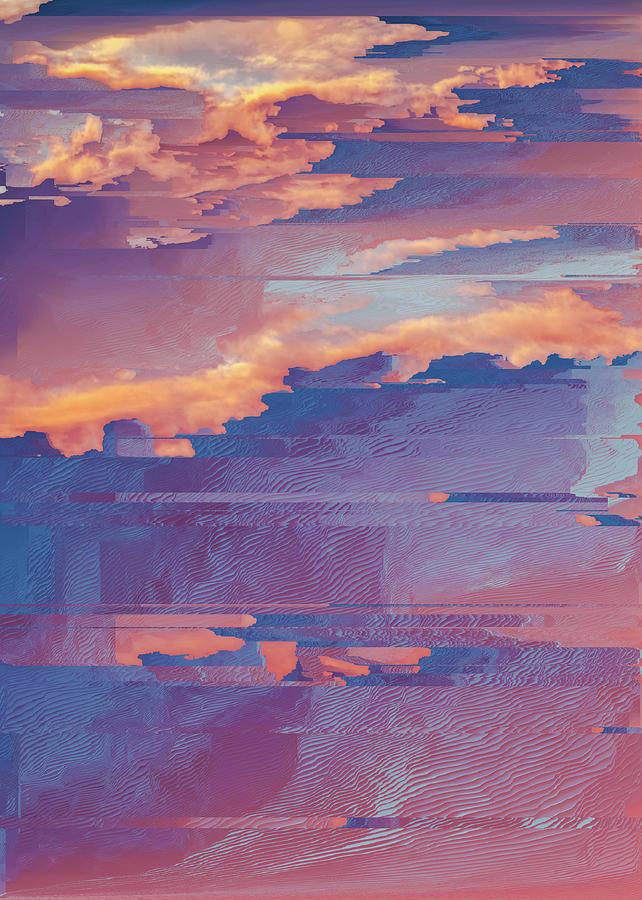 The sky series II.b Digital Art by Jenny Filipetti