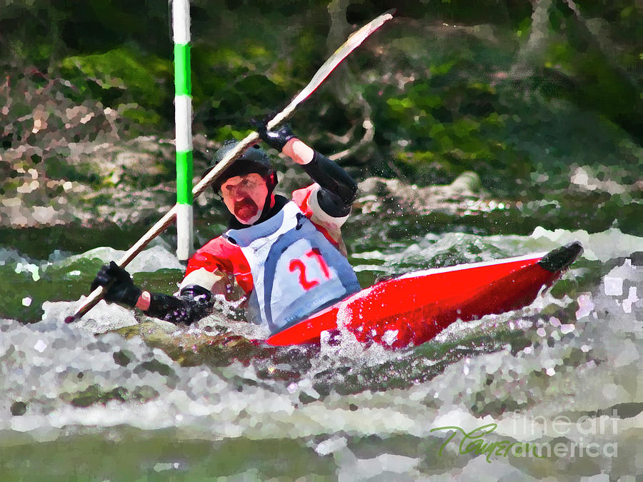 The Slalom by Tom Cameron