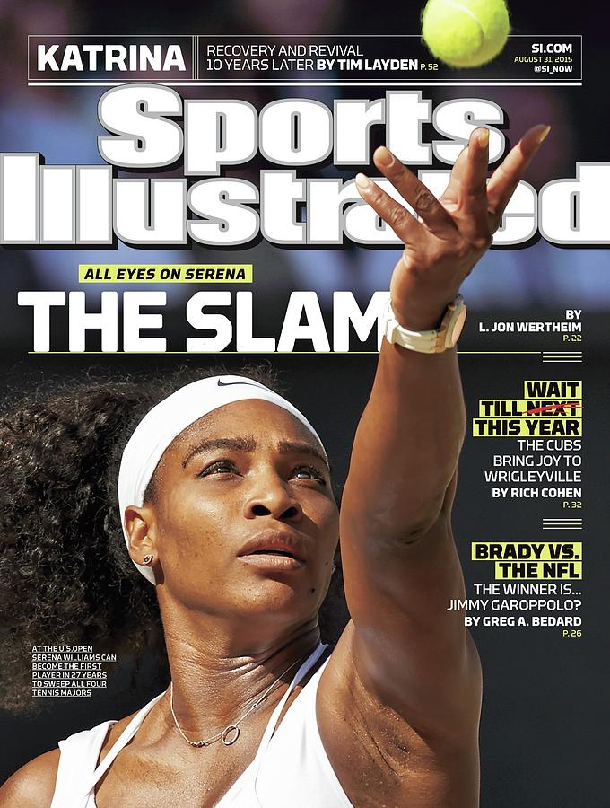 The Slam All Eyes On Serena Sports Illustrated Cover Photograph by Sports Illustrated