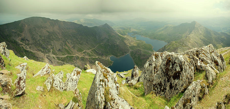 The Snowdon Horseshoe Photograph by Ray Wise