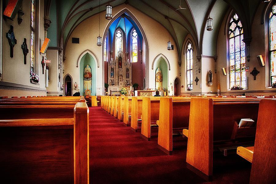 The Solitude Of Church by Dick Pratt