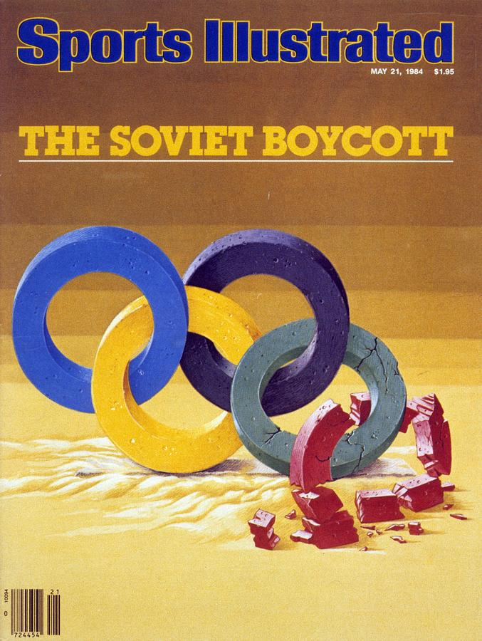 The Soviet Unions Boycott Of Los Angeles Olympics Sports Illustrated Cover Photograph by Sports Illustrated