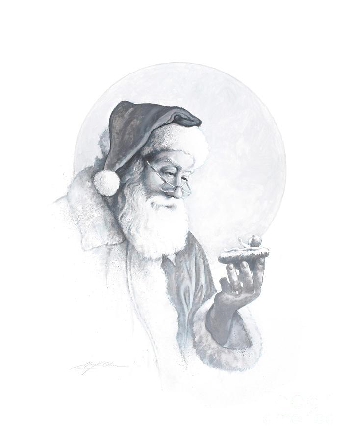 The Spirit of Christmas Vignette by Greg Olsen