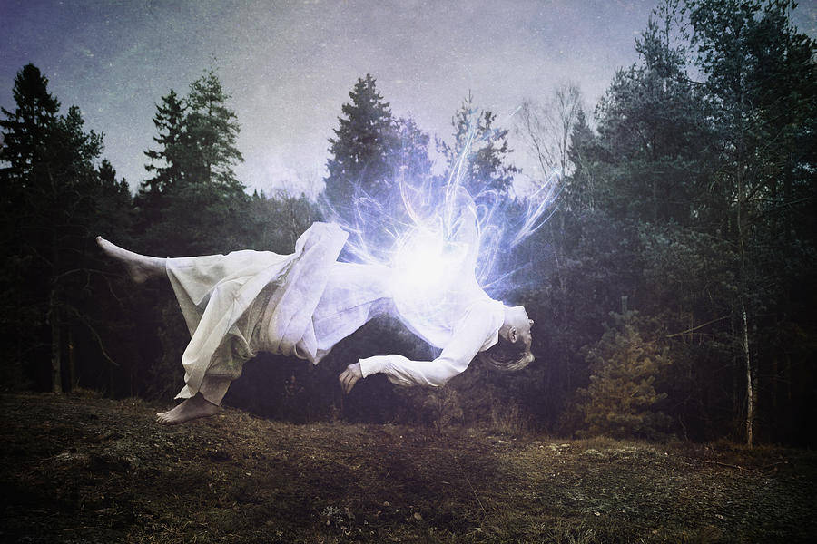 Conceptual Photograph - The Spirit Within by Roland Helerand