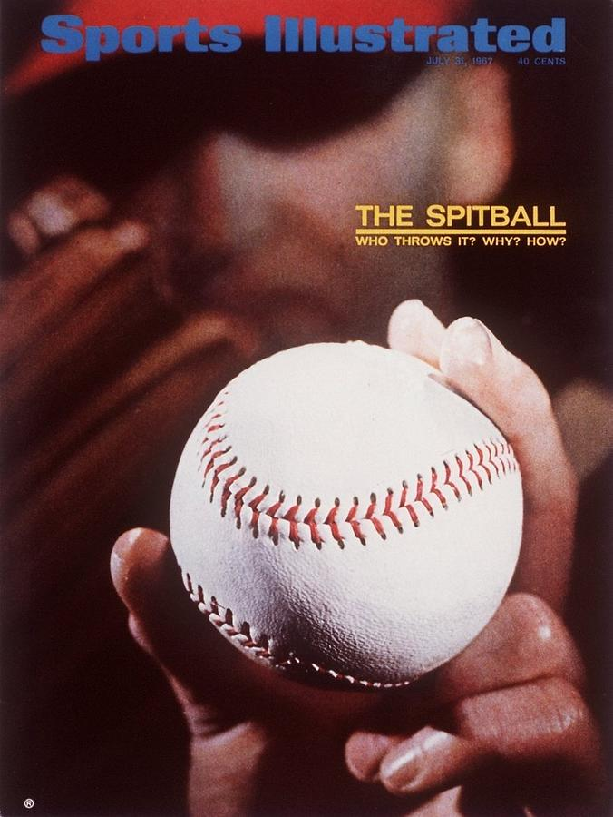 The Spitball Who Throws It And Why Sports Illustrated Cover Photograph by Sports Illustrated